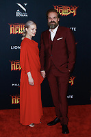 NEW YORK, NY - APRIL 9: Alison Sudol and  David Harbour  at NY Special Screening of HELLBOY at AMC Lincoln Square  on April 9, 2019 in New York City. <br /> CAP/MPI99<br /> ©MPI99/Capital Pictures