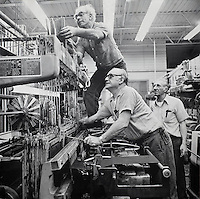 Loom fixers, narrow-fabric, Arbeka Webbing, Pawtucket, RI