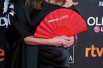 Isabel Coixet with fan attends red carpet of Goya Cinema Awards 2018 at Madrid Marriott Auditorium in Madrid , Spain. February 03, 2018. (ALTERPHOTOS/Borja B.Hojas)