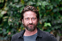Gerard Butler<br /> Roma 22/10/2017. Hotel De Russie. Geostorm Photocall<br /> Rome October 22nd 2017 Actor Gerard Butler poses for photographers during the photocall for the film Geostorm.<br /> Foto Samantha Zucchi Insidefoto
