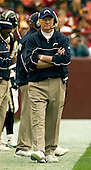 Landover, Maryland - November 27, 2005 -- San Diego Chargers head coach Marty Schottenheimer paces the sidelines during the game against the Washington Redskins at FedEx Field in Landover, Maryland on November 27, 2005.  The Chargers won the game in overtime 23 - 17..Credit: Ron Sachs / CNP