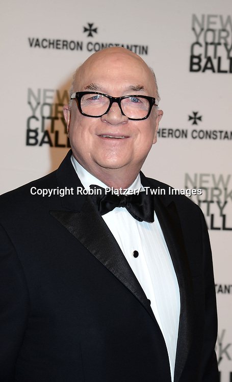 Sean Driscoll attends the New York City Ballet Spring 2014 Gala on May 8, 2014 at David Koch Theatre in Lincoln Center in New York City, NY, USA.