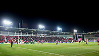 Picture by Allan McKenzie/SWpix.com - 06/04/2018 - Rugby League - Betfred Super League - St Helens v Hull FC - The Totally Wicked Stadium, Langtree Park, St Helens, England - A general view, GV, of St Helens playing Hull FC at Langtree Park.