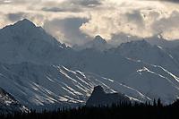Matanuska Valley and Chugach Range, Alaska.