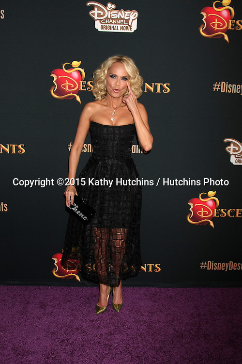 "LOS ANGELES - JUL 24:  Kristin Chenoweth at the ""Descendants"" Premiere Screening at the Walt Disney Studios on July 24, 2015 in Burbank, CA"