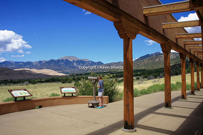 Visitor's Center at Great Sand Dunes National Park, Colorado, USA