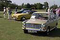 26/07/14 <br /> <br /> Austin 1100 and Ford Capri.<br /> <br /> Princess Diana's Mini Metro was the star of the show at the first ever Festival of the Unexceptional.<br /> <br /> The car show held near Silverstone celebrated the best examples of the most ordinary cars of late 1960s to mid-1980s Britain.<br /> <br /> Organisers, Hagerty Insurance, said: &quot;Let&rsquo;s celebrate, preserve and enjoy these threatened and endangered pieces of our beige, brown and plaid automotive heritage.<br /> <br />  &quot;There are twice as many Ferraris on the road in the UK than Austin Allegros! We&rsquo;ve brought together the 50 best examples of a wide range of models - an award of dubious value will go to the overall winner.&quot;<br /> <br /> Princess Diana's red 1980 Mini Metro L was photographed many times while she was dating Prince Charles and was affectionately known as the 'courting car'. It has had three owners since it left the Royal fleet, and has clocked-up a very modest 30,000 miles. <br /> <br /> <br /> All Rights Reserved - F Stop Press.  www.fstoppress.com. Tel: +44 (0)1335 300098