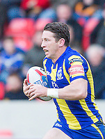 Picture by Allan McKenzie/SWpix.com - 04/03/2017 - Rugby League - Betfred Super League - Salford Red Devils v Warrington Wolves - AJ Bell Stadium, Salford, England - Kurt Gidley.