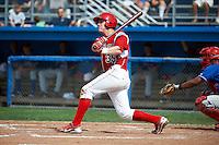 Batavia Muckdogs third baseman Patrick Wisdom #35 during a NY-Penn League game against the Auburn Doubledays at Dwyer Stadium on September 3, 2012 in Batavia, New York.  Auburn defeated Batavia 5-3.  (Mike Janes/Four Seam Images)