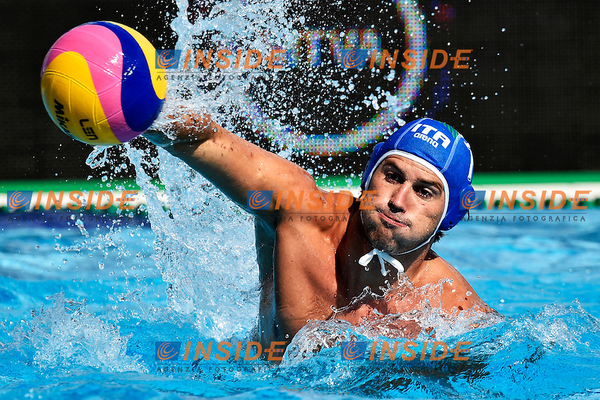 GIACOPPO Massimo Italia <br /> Romania - Italy / Romania - Italia <br /> LEN European Water Polo Championships 2014<br /> Alfred Hajos -Tamas Szechy Swimming Complex<br /> Margitsziget - Margaret Island<br /> Day02 - July 15 <br /> Photo A.Staccioli/Insidefoto/