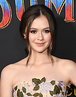 11 March 2019 - Hollywood, California - Olivia Sanabia. &quot;Dumbo&quot; Los Angeles Premiere held at Ray Dolby Ballroom. Photo <br /> CAP/ADM/BT<br /> &copy;BT/ADM/Capital Pictures