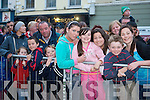 Pictured at the Rose of Tralee parade through Tralee town centre on Saturday night.