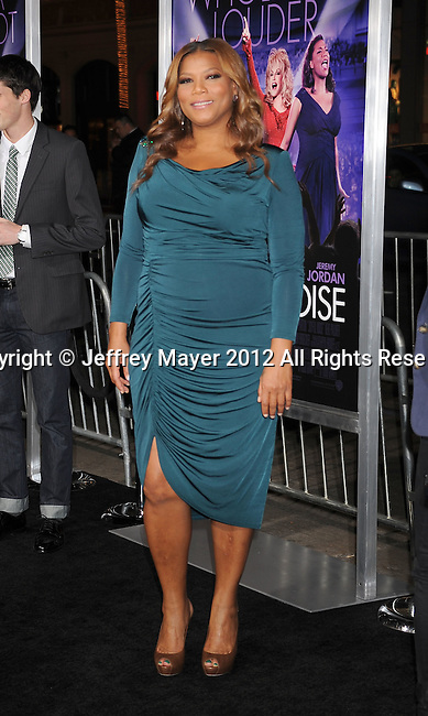HOLLYWOOD, CA - JANUARY 09: Queen Latifah attends the 'Joyful Noise' Los Angeles Premiere at Grauman's Chinese Theatre on January 9, 2012 in Hollywood, California.