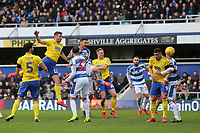 Harlee Dean of Birmingham City scores and celebrates during Queens Park Rangers vs Birmingham City, Sky Bet EFL Championship Football at Loftus Road Stadium on 9th February 2019