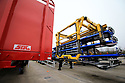 SPECIAL BREXIT FEA ON ANTRIM AND SDC TRAILERS FOR Arthur Beesley  - 9/1/2019: New trailers at SDC in Toomebridge, County Antrim, Northern Ireland. Photo/Paul McErlane