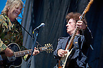 Mike Peters & Willie Nile at the Union County Music Fest 2010.