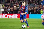 FC Barcelona's Lucas Digne  during Champions League match between Futbol Club Barcelona and VfL Borussia Mönchengladbach  at Camp Nou Stadium in Barcelona , Spain. December 06, 2016. (ALTERPHOTOS/Rodrigo Jimenez)