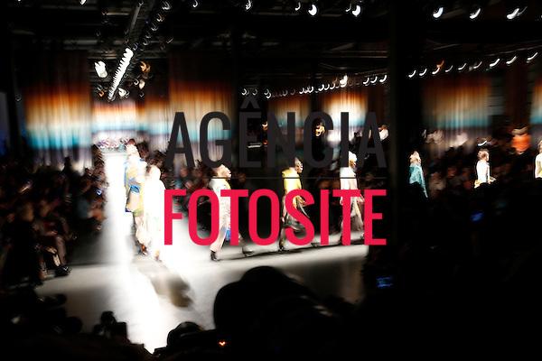 Milao, Italia &ndash; 02/2014 - Desfile de Missoni durante a Semana de moda de Milao - Inverno 2014. <br /> Foto: FOTOSITE