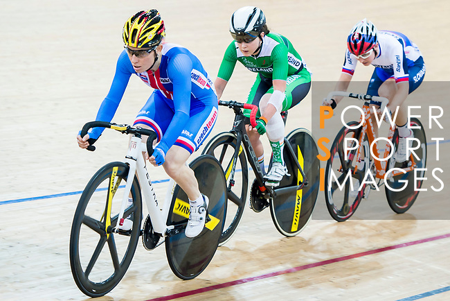 Jarmila Machacova of Czech Republic competes in the Women's Points Race 25 km Final during the 2017 UCI Track Cycling World Championships on 16 April 2017, in Hong Kong Velodrome, Hong Kong, China. Photo by Marcio Rodrigo Machado / Power Sport Images