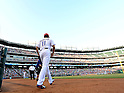 Yu Darvish (Rangers),.APRIL 30, 2013 - MLB :.Yu Darvish of the Texas Rangers runs out onto the field during the baseball game against the Chicago White Sox at Rangers Ballpark in Arlington in Arlington, Texas, United States. (Photo by AFLO)
