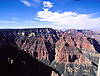 Aerial view of the Grand Canyon and Colorado River