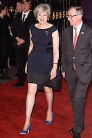 LONDON, UK. October 31, 2016: Prime Minister Theresa May &amp; husband Philip John May at the Pride of Britain Awards 2016 at the Grosvenor House Hotel, London.<br /> Picture: Steve Vas/Featureflash/SilverHub 0208 004 5359/ 07711 972644 Editors@silverhubmedia.com