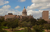 Texas Capitol west view during summer