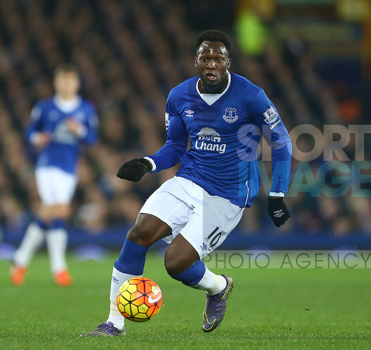 Romelu Lukaku of Everton - Everton vs Crystal Palace - Barclays Premier League - Goodison Park - Liverpool - 07/12/2015 Pic Philip Oldham/SportImage