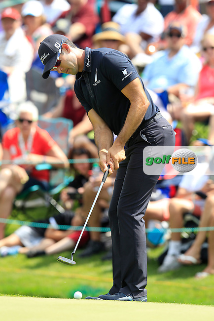 Cameron Triangle (USA) during final round of the Wells Fargo Championship, Quail Hollow Country Club, Charlotte, North Carolina, USA. 08/05/2016.<br /> Picture: Golffile | Fran Caffrey<br /> <br /> <br /> All photo usage must carry mandatory copyright credit (&copy; Golffile | Fran Caffrey)