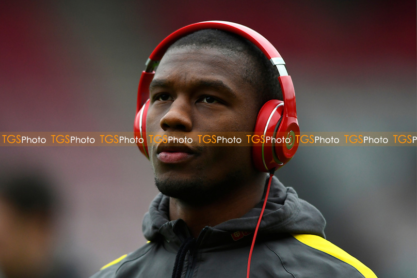 Christian Kabasele of Watford during AFC Bournemouth vs Watford, Premier League Football at the Vitality Stadium on 21st January 2017