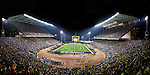 Husky Stadium Panorama. Photo taken during historic last game before major renovation. - 11/5/11. Photo by Rob Sumner / Red Box Pictures.