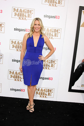"LOS ANGELES, CA - JUNE 25: Jessica St Clair  at the ""Magic Mike XXL"" Premiere at the TCL Chinese Theater on June 25, 2015 in Los Angeles, California. Credit: David Edwards/MediaPunch"