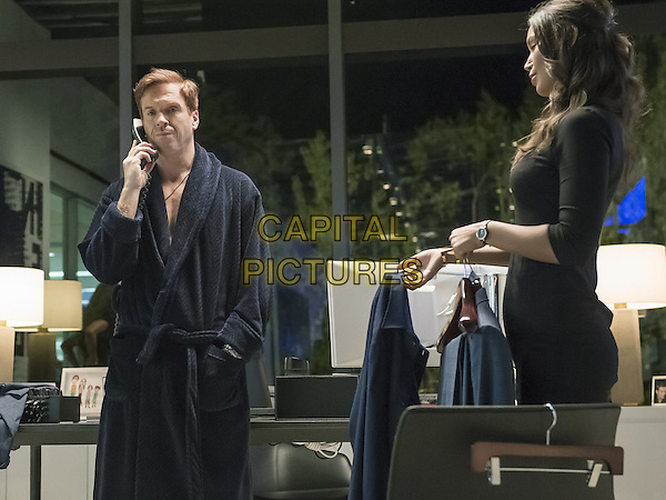 Billions  (2016-)<br /> (Season 1)<br /> Damian Lewis as Bobby &quot;Axe&quot; Axelrod and Ilfenesh Hadera as Deb<br /> *Filmstill - Editorial Use Only*<br /> CAP/FB<br /> Image supplied by Capital Pictures