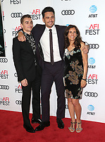 12 November 2017 - Hollywood, California - Betsy Franco-Feeney, Dave Franco, James Franco. &quot;The Disaster Artist&quot; AFI FEST 2017 Screening held at TCL Chinese Theatre. <br /> CAP/ADM/FS<br /> &copy;FS/ADM/Capital Pictures