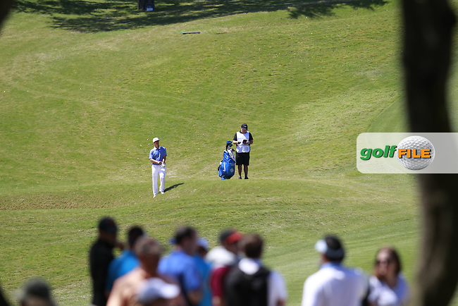 Thorbjorn Olesen (DEN) on the 9th during round 3 of the WGC Dell Matchplay championship, austin Country club, Austin, Texas, USA. 25/03/2016.<br /> Picture: Golffile | Fran Caffrey<br /> <br /> <br /> All photo usage must carry mandatory copyright credit (&copy; Golffile | Fran Caffrey)