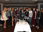 Andrew McGuirk celebrating his 75th birthday in The Westcourt hotel with his wife Ann and all his grandchildren. Photo:Colin Bell/pressphotos.ie