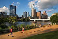 Lady Bird Lake Hike & Bike Running Trail for walking, running and biking - Stock Photo Image Gallery