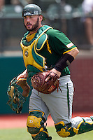 Baylor Bears catcher Josh Ludy #30 during the NCAA Regional baseball game against Oral Roberts University on June 3, 2012 at Baylor Ball Park in Waco, Texas. Baylor defeated Oral Roberts 5-2. (Andrew Woolley/Four Seam Images)