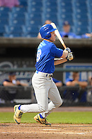 Third baseman Charles Cody (8) of Great Bridge High School in Chesapeake, Virginia playing for the Toronto Blue Jays scout team during the East Coast Pro Showcase on July 31, 2013 at NBT Bank Stadium in Syracuse, New York.  (Mike Janes/Four Seam Images)