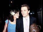 Gilda Radner with her husband G.E. Smith <br />attending a post performance SAT NITE LIVE party<br />at Rockefeller Center on June 1, 1980 in New York City.