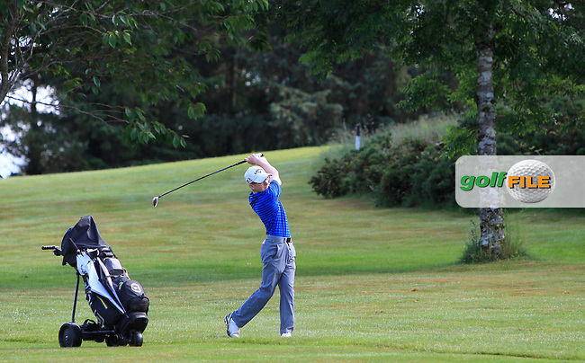 David Kitt (Athenry) on the 12th during Round 3 of the 2016 Connacht Strokeplay Championship at Athlone Golf Club on Sunday 12th June 2016.<br />