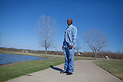 DNA Exonerated prisoner Thomas McGowan, visits a park near his home in Garland, Texas.
