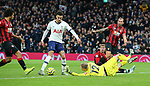 Tottenham's Dele Alli scores to make it 2-0 during the Premier League match at the Tottenham Hotspur Stadium, London. Picture date: 30th November 2019. Picture credit should read: Paul Terry/Sportimage