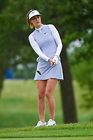 Michelle Wie (USA) chips on to 2 during the round 2 of the KPMG Women's PGA Championship, Hazeltine National, Chaska, Minnesota, USA. 6/21/2019.<br /> Picture: Golffile | Ken Murray<br /> <br /> <br /> All photo usage must carry mandatory copyright credit (© Golffile | Ken Murray)