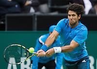 12-02-14, Netherlands,Rotterdam,Ahoy, ABNAMROWTT, Fernando Verdasco(ESP) <br /> Photo:Tennisimages/Henk Koster
