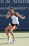 August  18, 2017:  Karolina Pliskova (CZE) defeated Caroline Wozniacki (DEN) 6-2 in the first set at the Western & Southern Open being played at Lindner Family Tennis Center in Mason, Ohio. ©Leslie Billman/Tennisclix/CSM