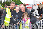 James O'Connor Castleisland, Kellyanne Egan Killarney, James Egan, and Tamara O'Connor both Castleisland at the Harley Davidson Bikefest in Killarney on Sunday..