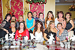 Pictured at the Dunnes NCR Staff Christmas Party in the Grand Hotel, Tralee on Saturday night front l-r: Sharon Russell, Marie Enright, Aisling Spillane, Maire O'Connor, Megan Dunne Back l-r: Breda Flynn, Marie Lehane, Dana O'Regan, Michelle Roche, Gerard Scanlon, Louise Leslie, Natalie Daly, Lillian O'Mahony and Olivia Cannon.