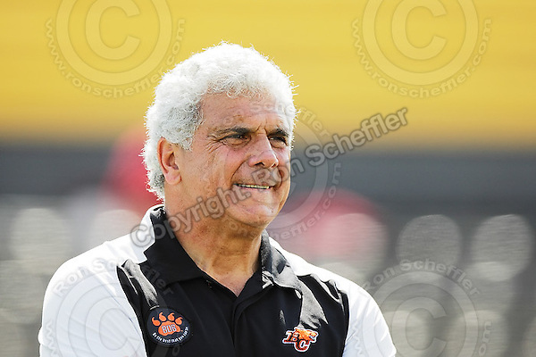 Sep 6, 2008; Hamilton, ON, CAN; BC Lions head coach Wally Buono. CFL football - BC Lions defeated the Hamilton Tiger-Cats 35-12 at Ivor Wynne Stadium. Mandatory Credit: Ron Scheffler-www.ronscheffler.com. Copyright (c) Ron Scheffler