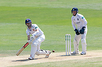 James Foster in batting action for Essex as Tim Ambrose looks on from behind the stumps during Essex CCC vs Warwickshire CCC, Specsavers County Championship Division 1 Cricket at The Cloudfm County Ground on 20th June 2017
